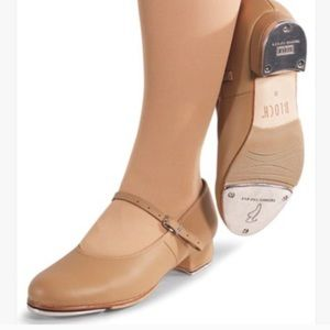 Bloch Ladies Showtapper Tan Leather Tap Shoes